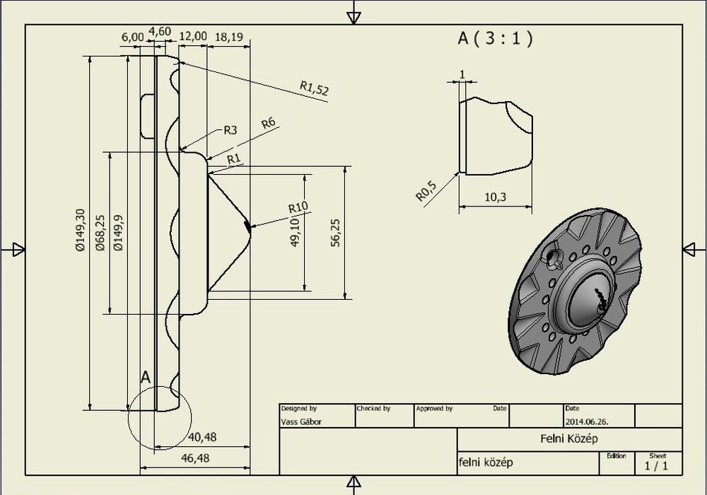 CNC megmunkálás, CNC marás, CNC esztergálás, 3D modell készítés, műszaki rajzolás, CAM Programozás